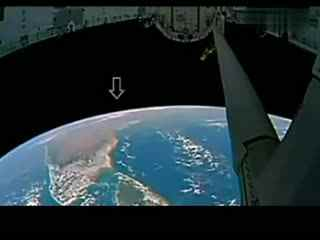 实拍ufo掠过国际太空站 奇闻异事大全