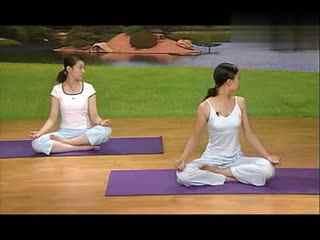 快速瘦腰瘦肚子瑜伽瑜伽视频减肥教程-睡前瘦腿减肥瑜伽-简单瑜天1020瘦斤瘦身图片