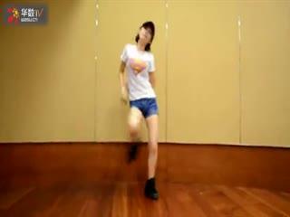 美女现代舞蹈教学视频
