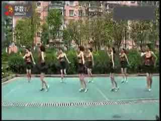 周思萍广场舞阳光来了 华数TV