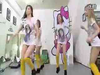 韩国女主播玫瑰无罩杯热舞