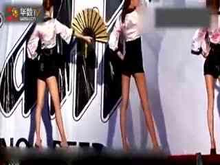 日本美女激情热舞扇子舞【高清】