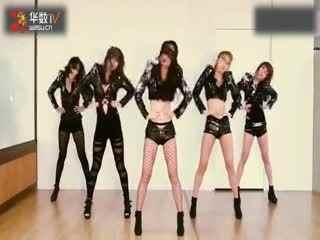 韩国美女舞团waveya―碧昂斯《runtheworldgirls》