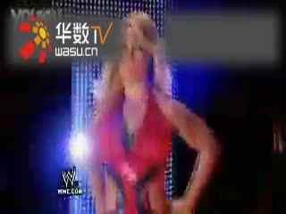 wwe美国职业摔角女子撕衣露胸超性感