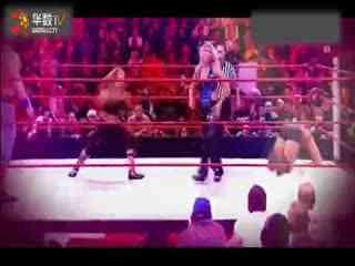 wwe美国职业摔角女子撕衣女子双人肉搏战