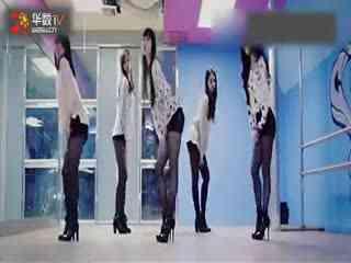 韩国性感美女现代舞练习室现代舞教学
