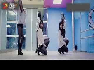 韩国性感美女现代舞教学