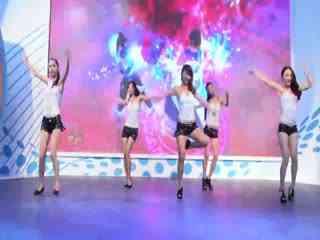 chinajoy2012美女:中青宝长腿美女舞蹈秀