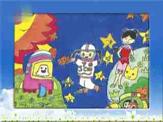 《植树》姜宏儿童画教学