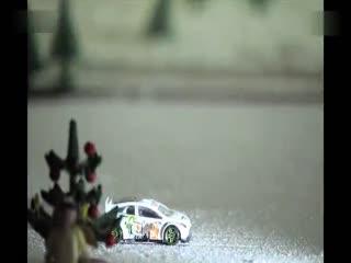 福特玩具车竞技场广告节日--软件TV华数编辑视频高清图片