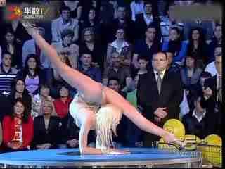 俄罗斯柔术美女zlata柔术表演柔体