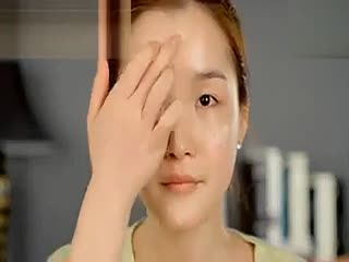 韩国化妆技巧 丑女一分钟变美女