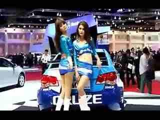 国际车展 性感车模美女热舞集锦
