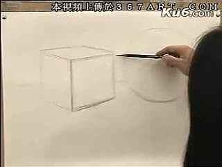 素描正方体画法 素描正方体步骤图片 素描眼睛画法图片