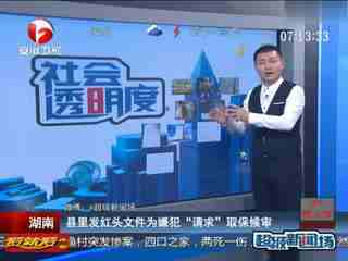 湖南一企业主被抓 县政府发红头文件请求取保