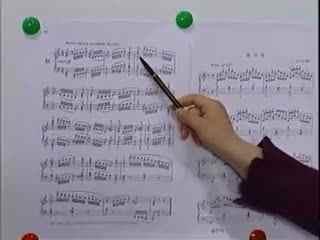 钢琴教学05 和弦弹法 钢琴入门指法手型视频教程自学图片