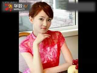 旗袍美女 古筝1图片