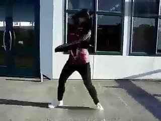 墨尔本鬼步舞 美女鬼步舞