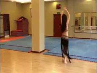 哈尔滨美女跳肚皮舞 舞蹈教学视频