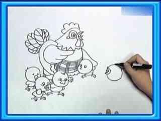 快乐的儿童节简笔画