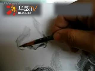 鼻子素描画法3