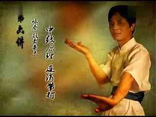 李志河讲咏春(12)-12式之偏拳图片