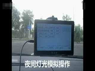 科目三语音播报器路考仪驾考模拟器演示视频