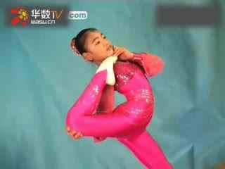 柔术训练被动柔术杂技柔术软功-被动少儿柔术软功 被动柔术软功故事图片