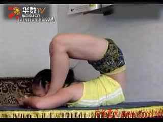 柔术训练被动柔术杂技柔术软功_1图片