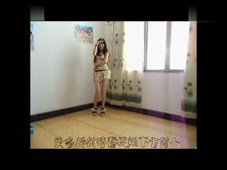 韩国美女热舞自拍bj主持李由美连体紧身裙热舞