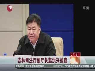 吉林司法厅副厅长赵洪兴被调查--华数TV