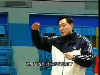 排球教学训练 04 正面双手垫球 准备姿势 身体素质训练 3 c