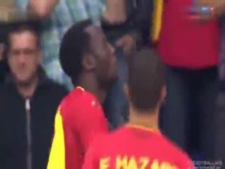 大发体育dafabet 比利时VS卢森堡 5-1 全场集锦 2014世界杯热身赛