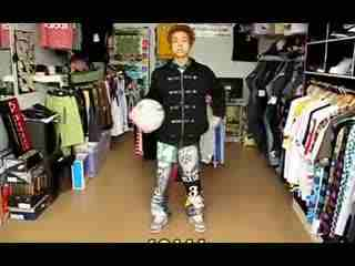 花式篮球教学视频 花式街球教学第一节 转球-c