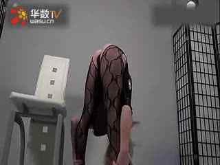 女子柔术表演泡妞视频