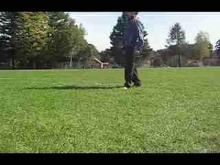 街头足球头部停球教学 花式足球表演教学-c--华
