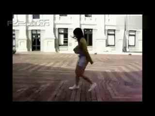 超震撼!美女曳步舞