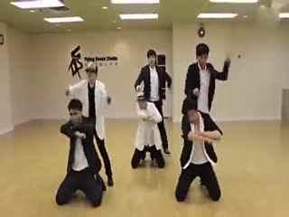 咆哮 exo舞蹈 exo咆哮舞蹈教学 exo咆哮舞蹈视频