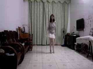 黑丝美女机械舞 机械舞教学