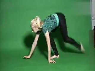 美女柔术表演 柔术视频