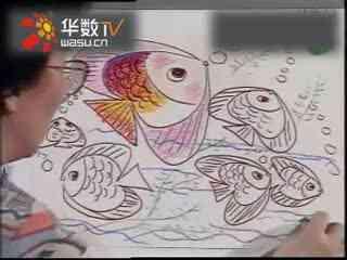 儿童学画画大全花盆