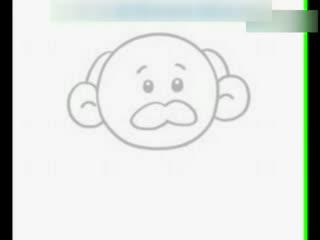 儿童简笔画-幼儿画画视频-竹子