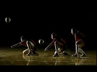 排球视频教学 17 低姿垫球技术 跳飘球 接发球