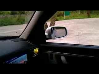 二学车视频教程曲线行驶技巧图解
