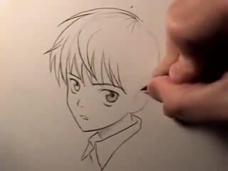 动漫人物画法素描简笔画设计大全16.教你画漫画