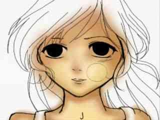动漫人物画法素描简笔画设计大全17教你画漫画