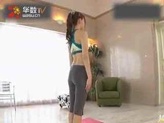 性感运动美女 做瑜伽 日本性感美女