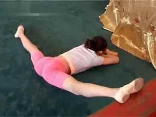 柔术训练 被动柔术 杂技柔术 软功25图片