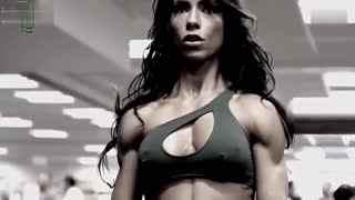 比基尼美女2014健身励志片