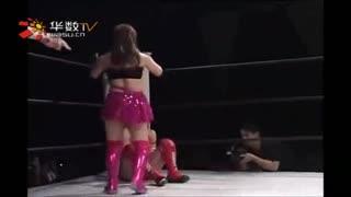 日本超变态女子摔跤 简直目瞪口呆